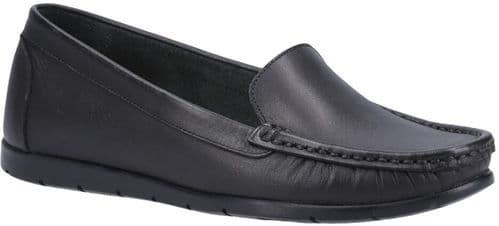 Fleet & Foster Tiggy Slip On Ladies Shoes Black